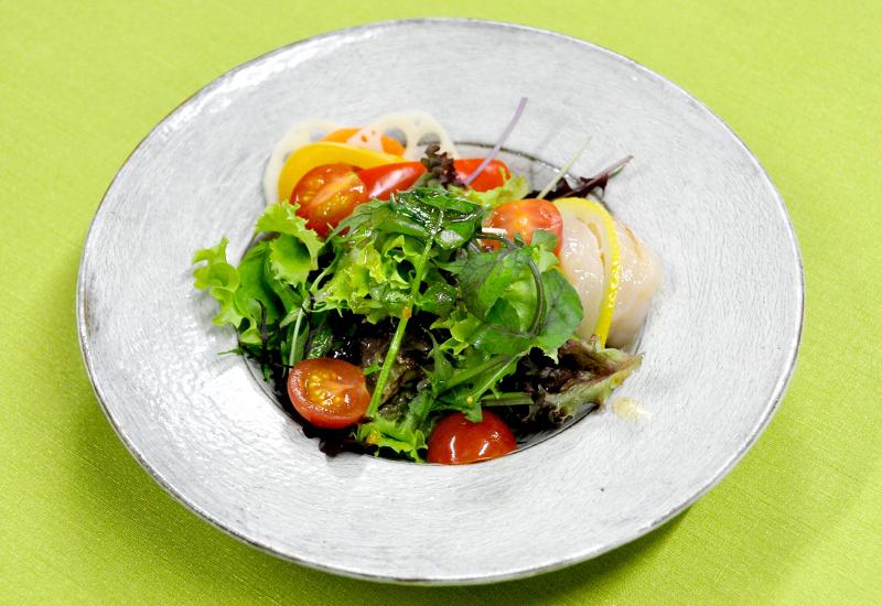 笠間産の食材を使った料理