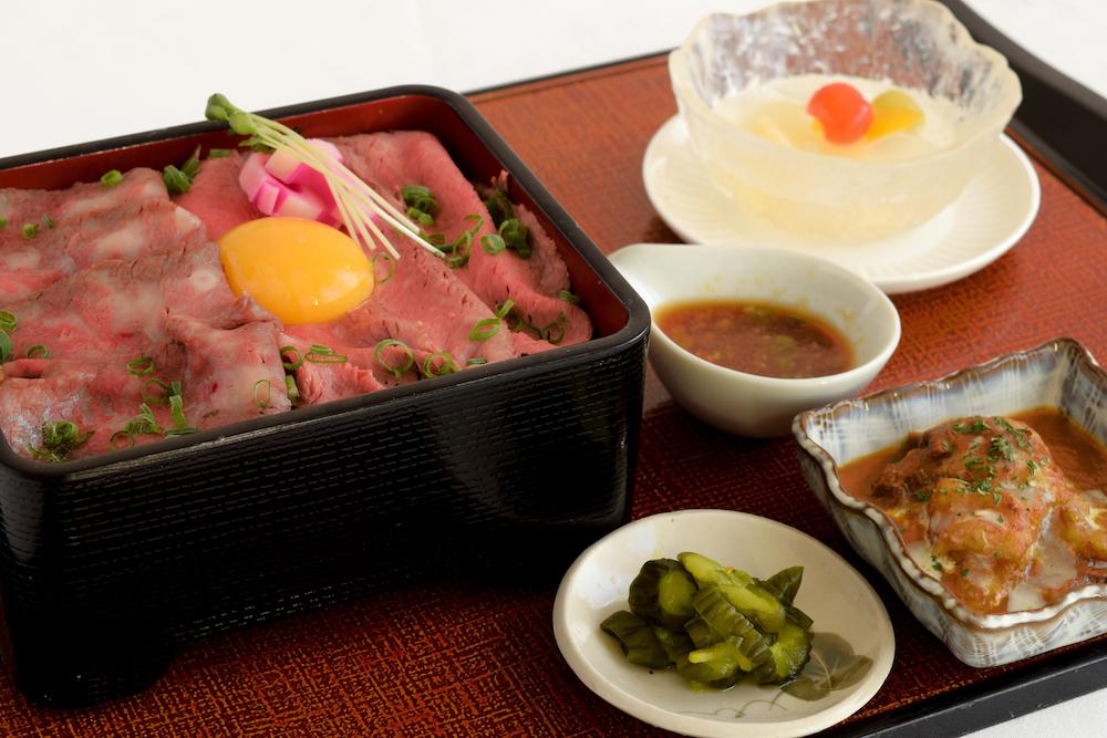 2種の常陸牛ローストビーフ重¥2,180